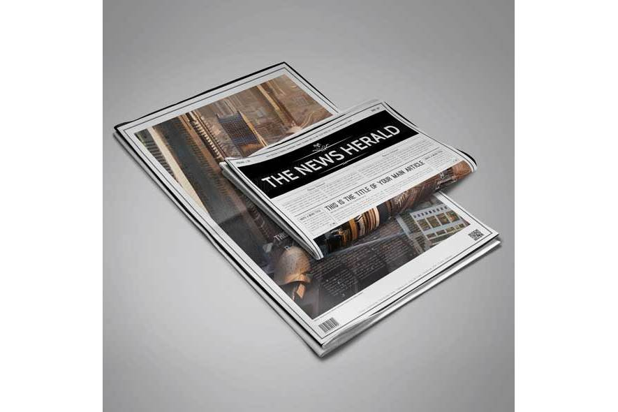 A3 Newspaper Template example image 4