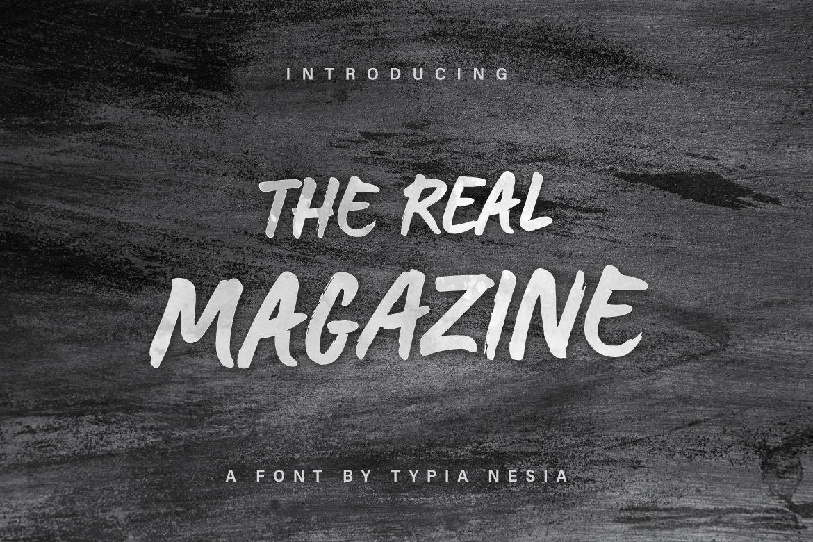 The Real Magazine example image 1