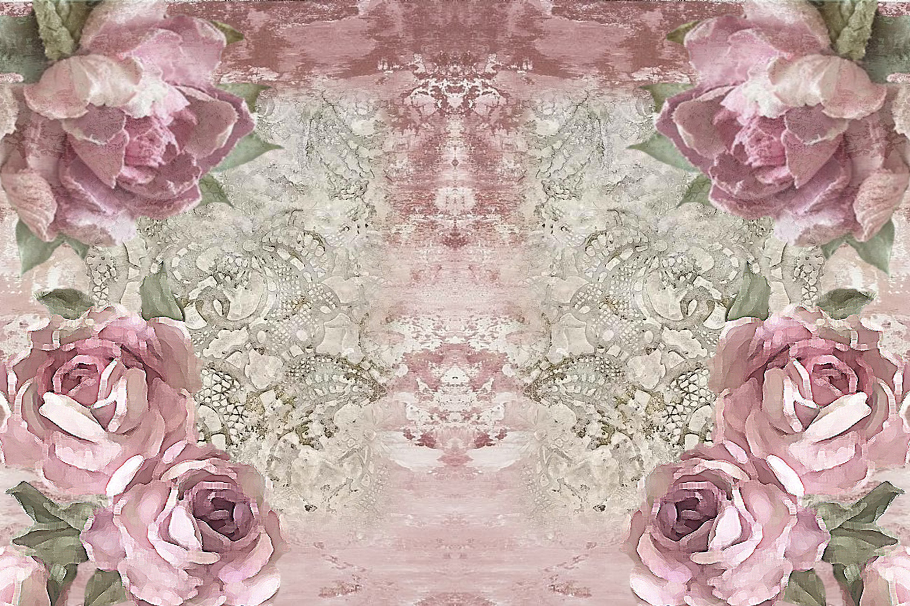 20 Journaling Background papers. Rustic Roses Commercial Use example image 3