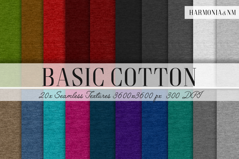 Basic Cotton 20 Seamless Textures example image 1