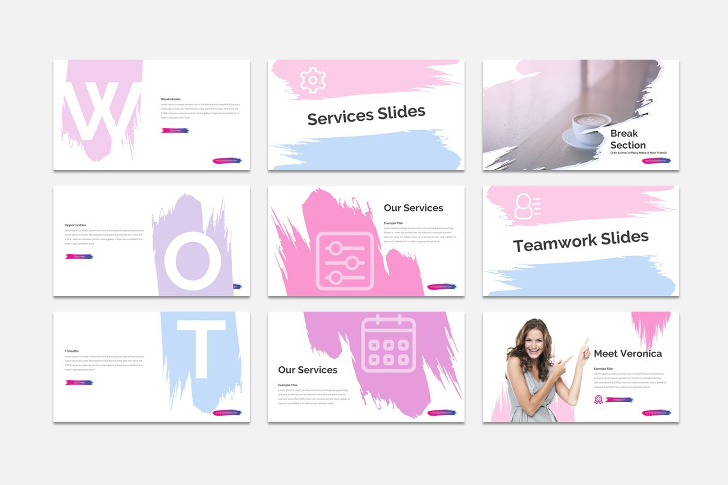 ACCOS - Multipurpose Powerpoint Template example image 4