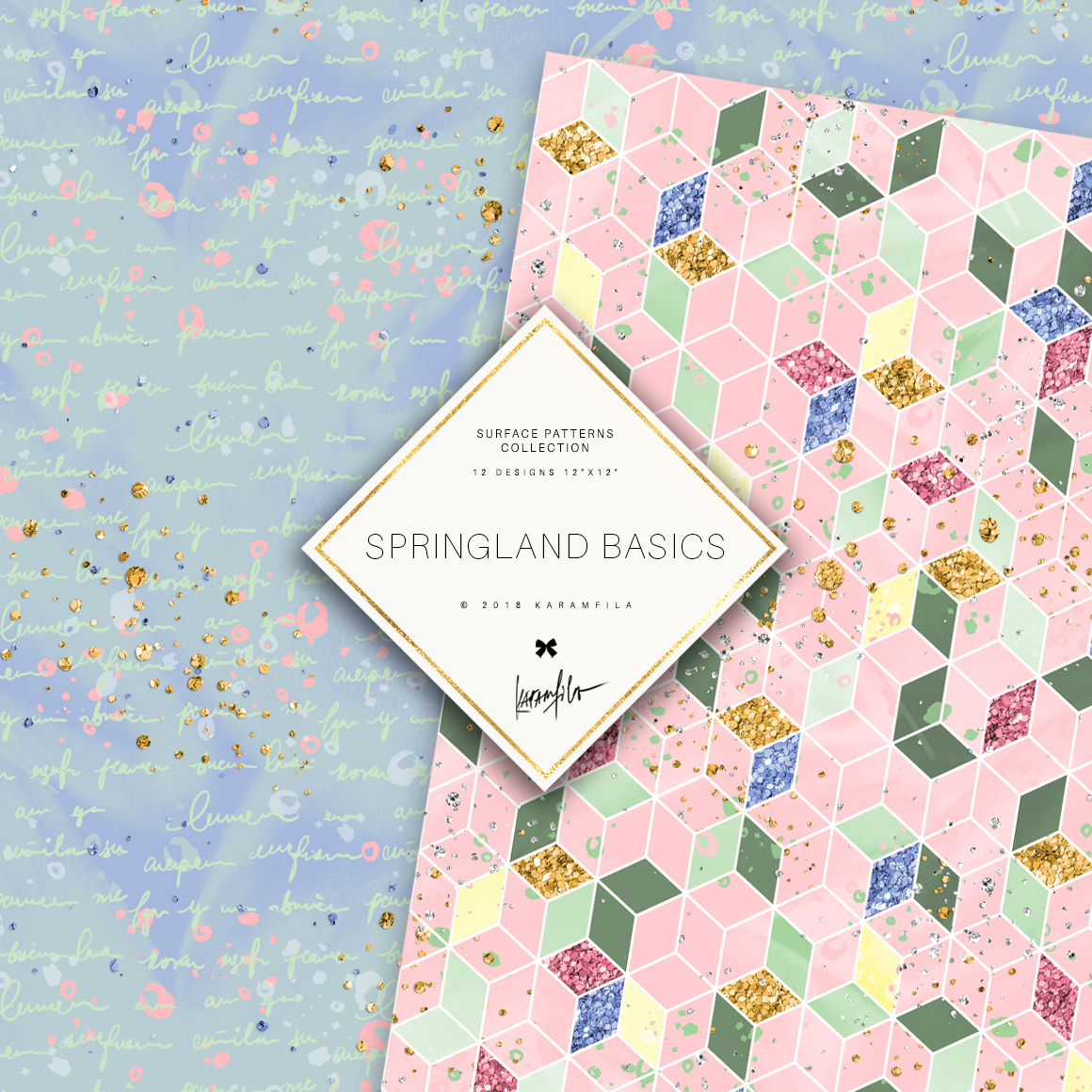 Karamfila's Springland Basic Patterns example image 5