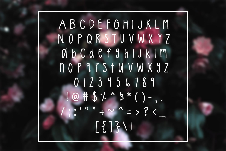 Tatertot - Tall Handwritten Font example image 2