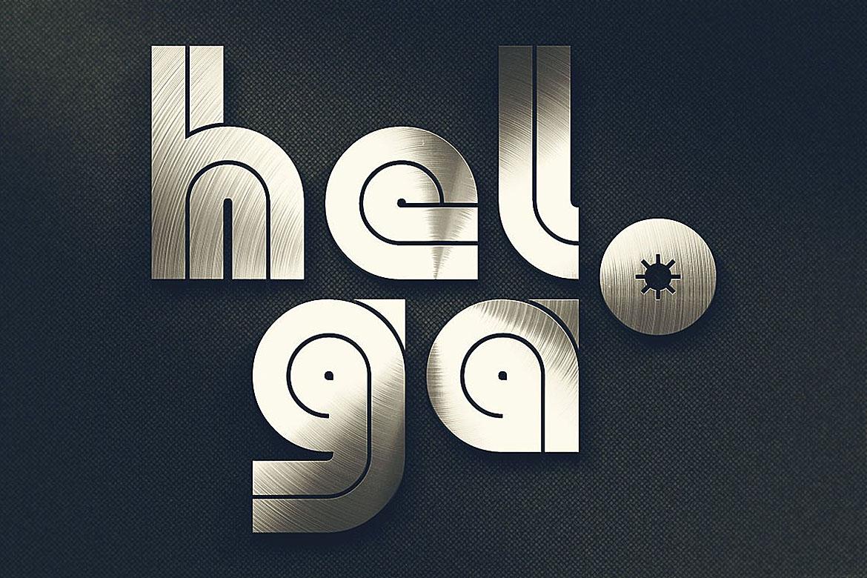 Helga - Display Font example image 4
