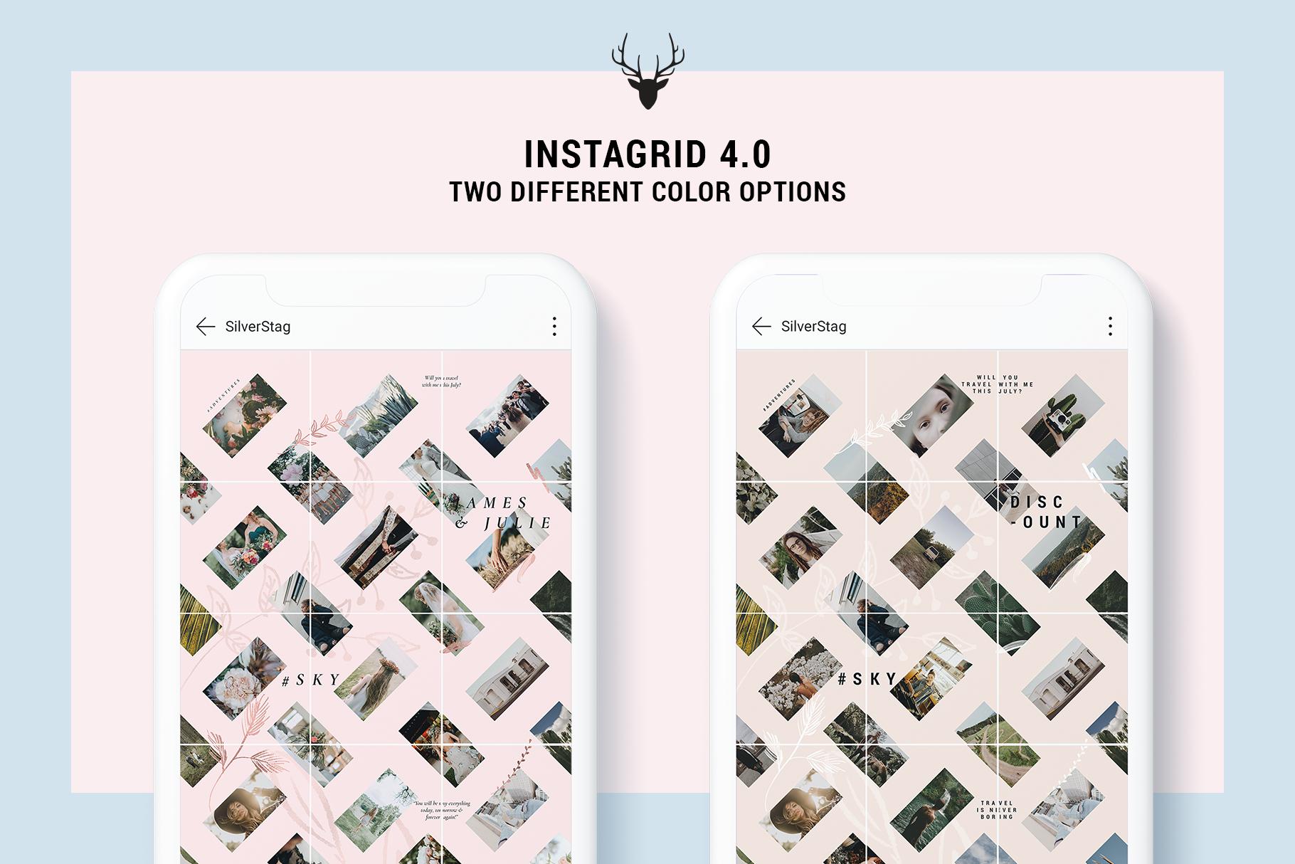 Instagram Grid Puzzle