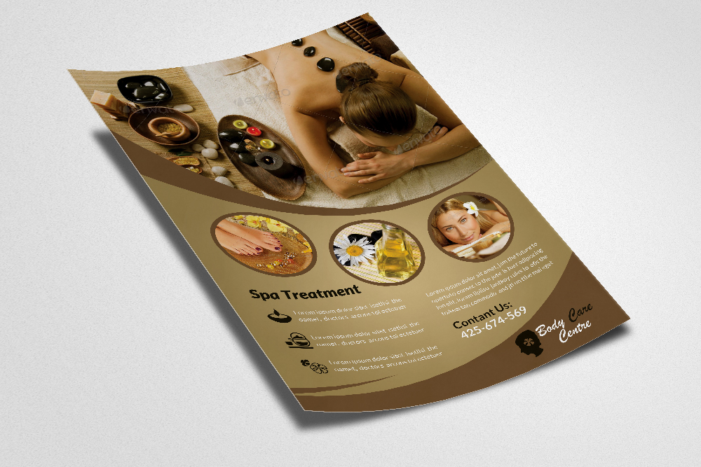 Spa & Skin Care Centre Flyer example image 3