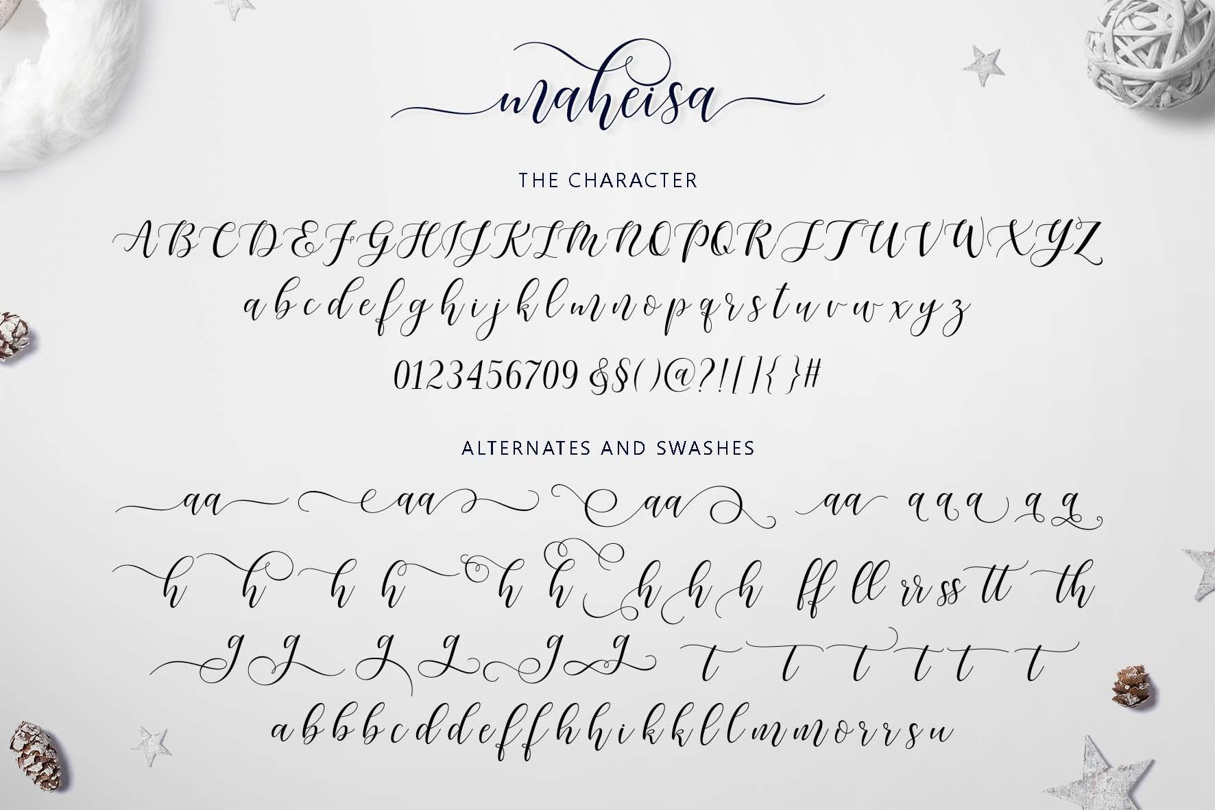 Maheisa Script example image 9