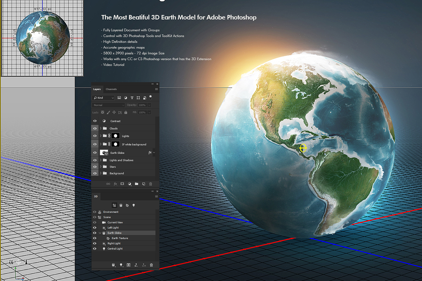 Photoshop 3D World example image 2
