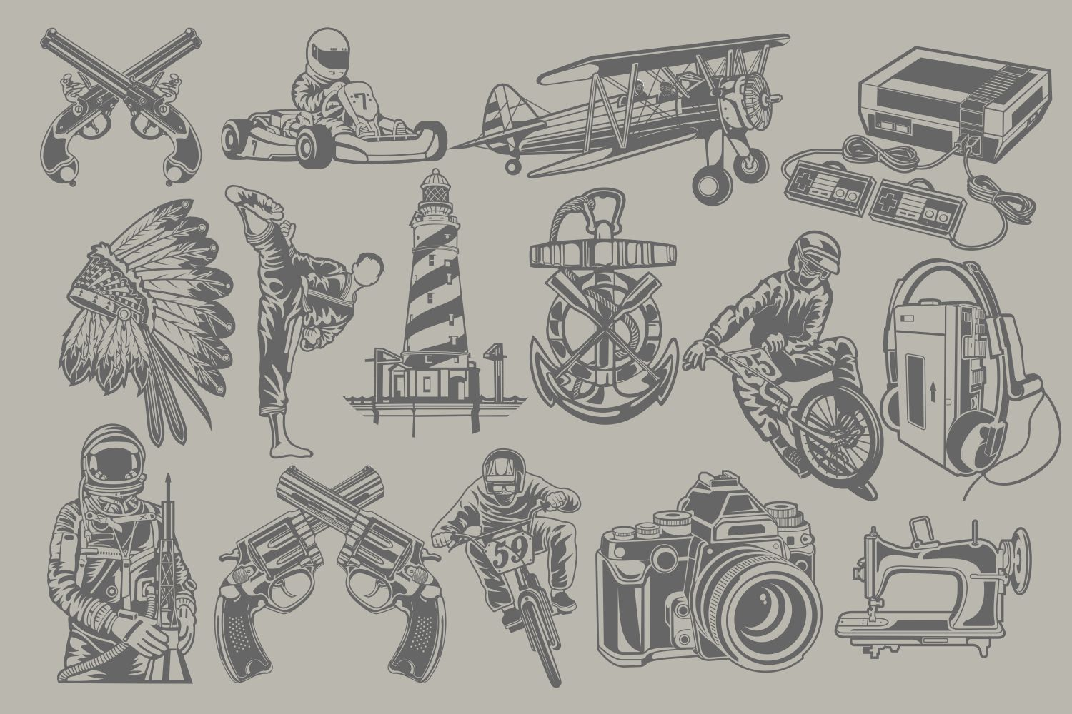 The Vector Bundle - 147 Vector Objects example image 7