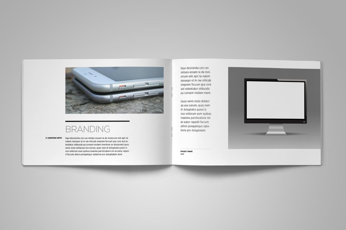 Portfolio Brochure Template example image 2