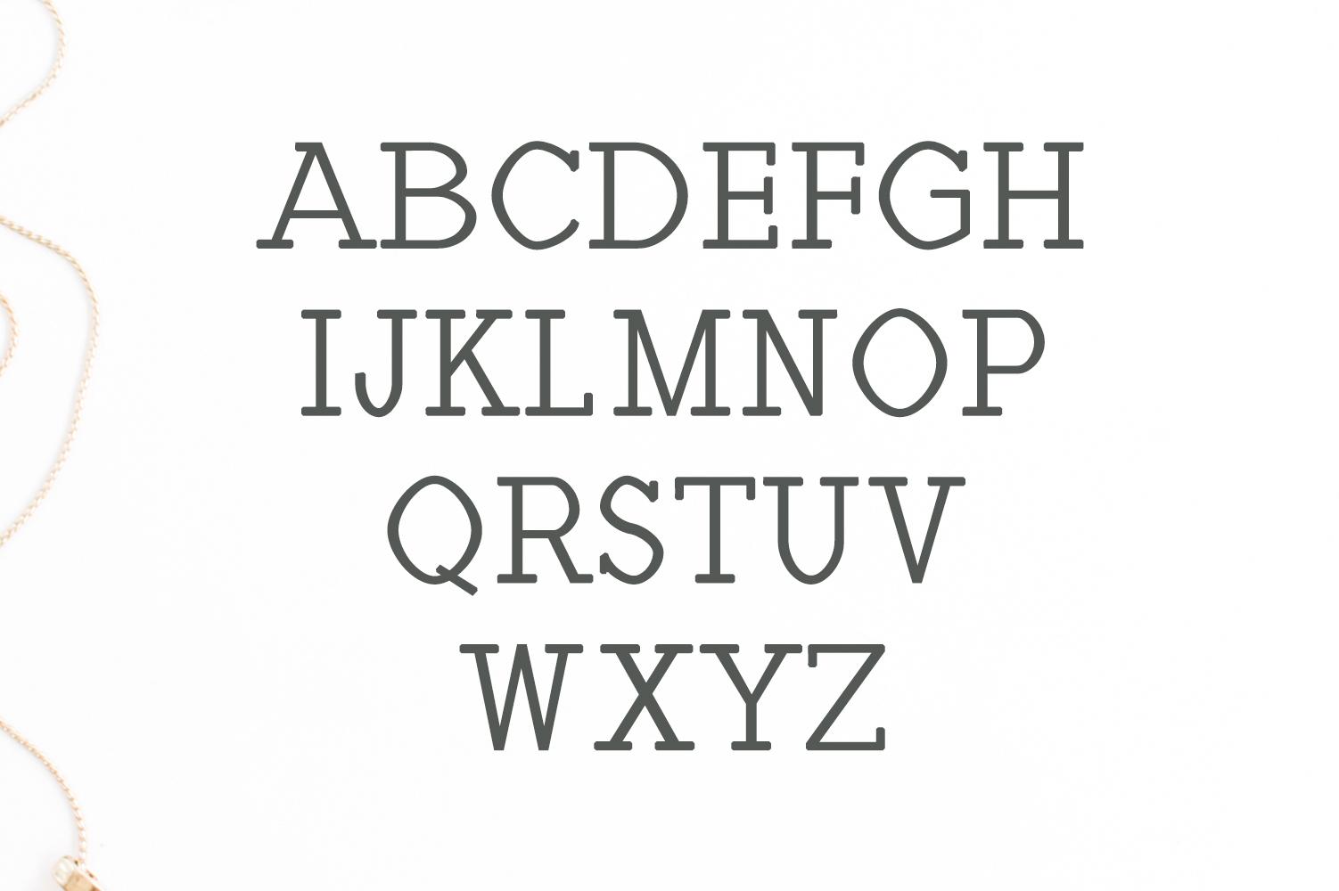 Haytham Minimal Slab Serif Typeface example image 2