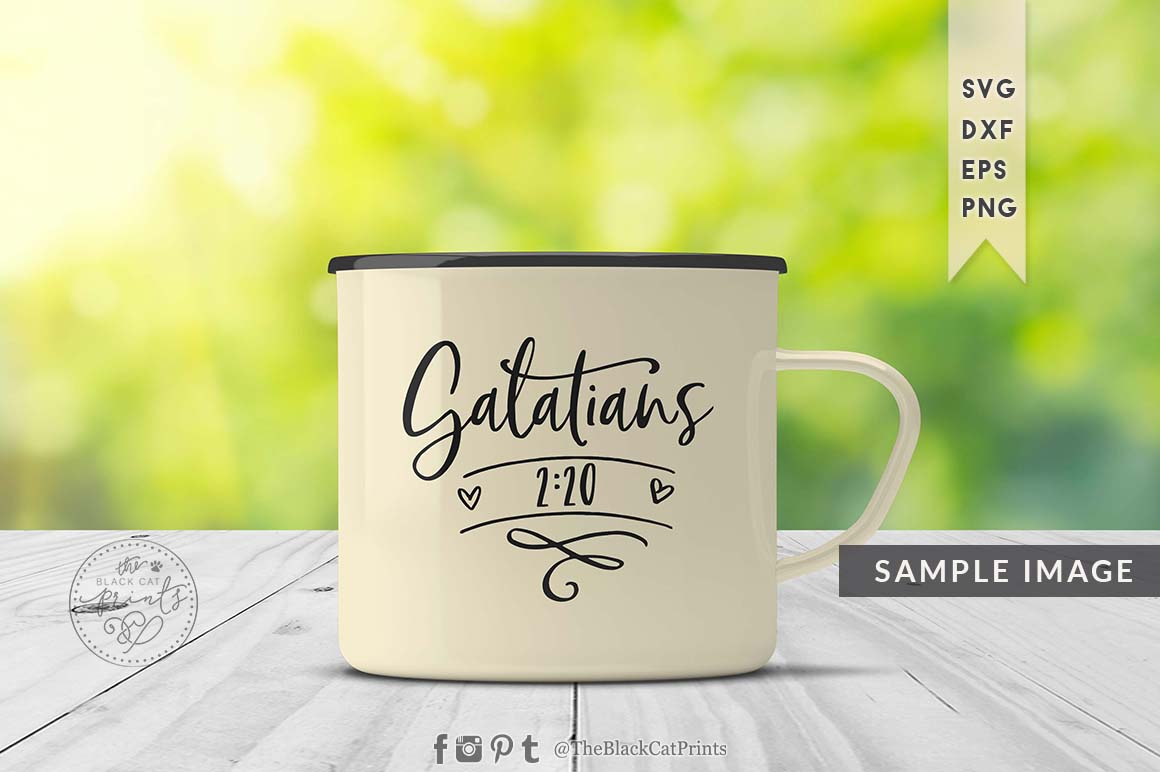 Galatians 220 SVG DXF PNG EPS example image 5
