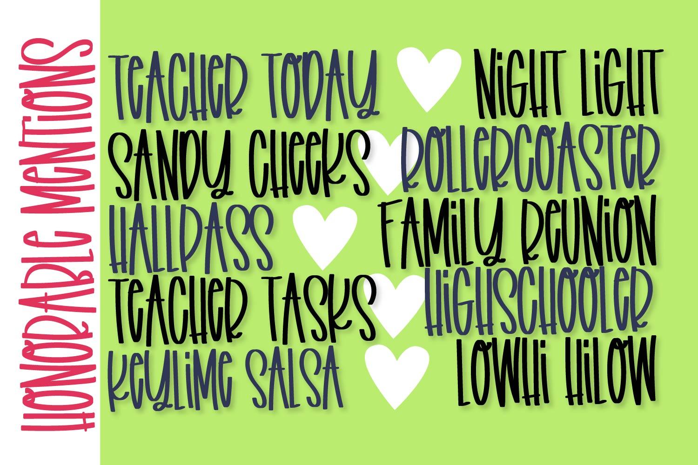 Favorite Teacher - A Fun Marker Font example image 11
