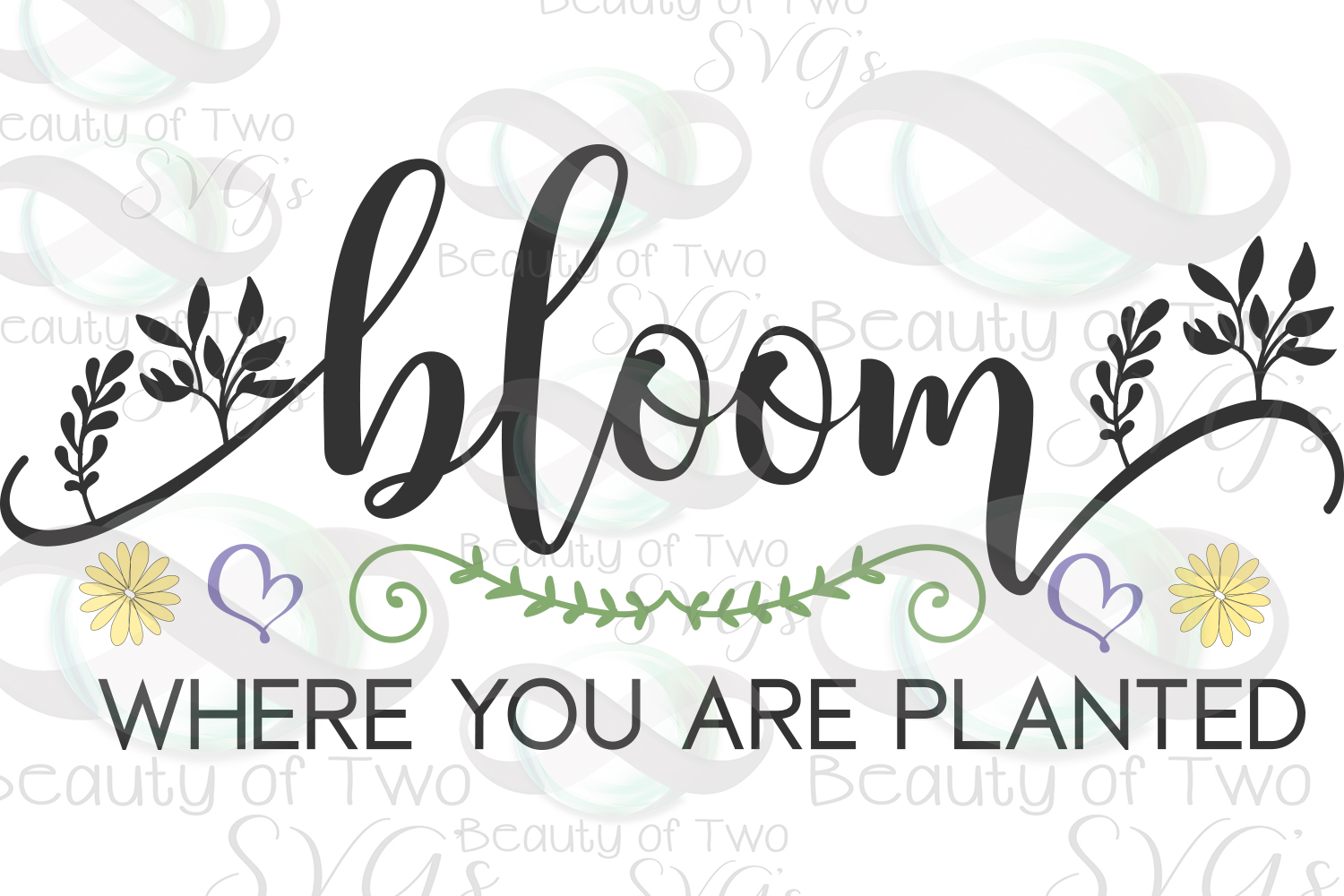 Bloom where you are planted svg, Spring svg, Gardener svg example image 2