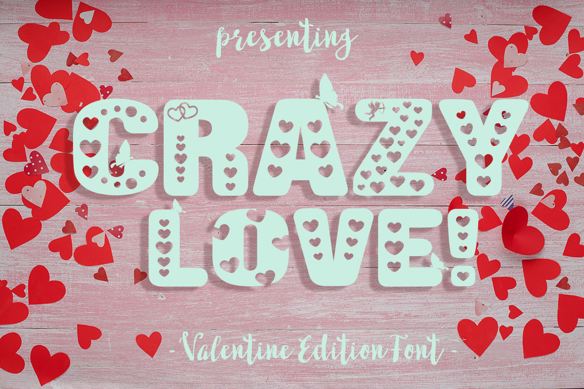 Crazy Love: A Valentine Edition Font example image 1