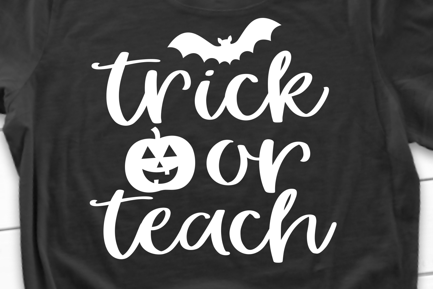 Trick or Teach SVG, DXF, PNG, EPS example image 1