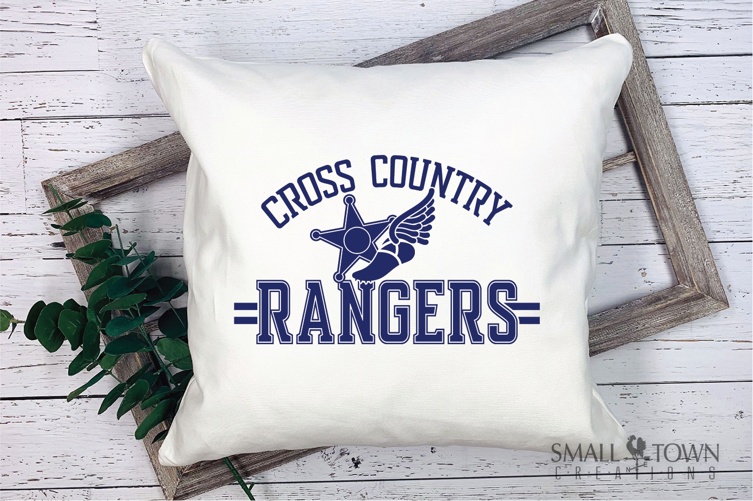 Ranger Cross Country, Sports, Logo, PRINT, CUT & DESIGN example image 3