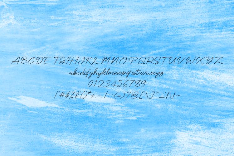 Sintarini Typeface example image 5
