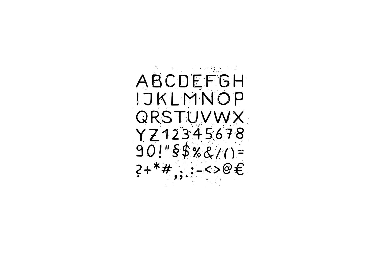 Bearmountain - Handmade Font example image 3