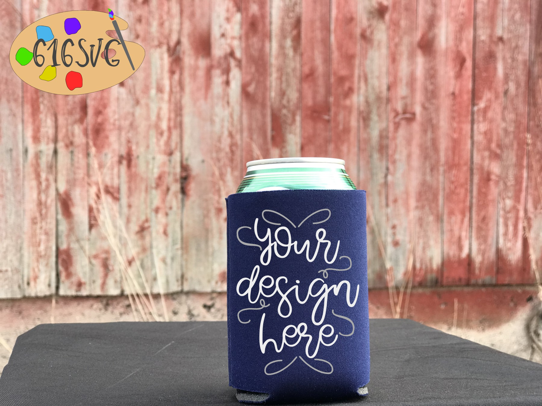 Can Cooler Mockup Bundle 33 Color Choices example image 17
