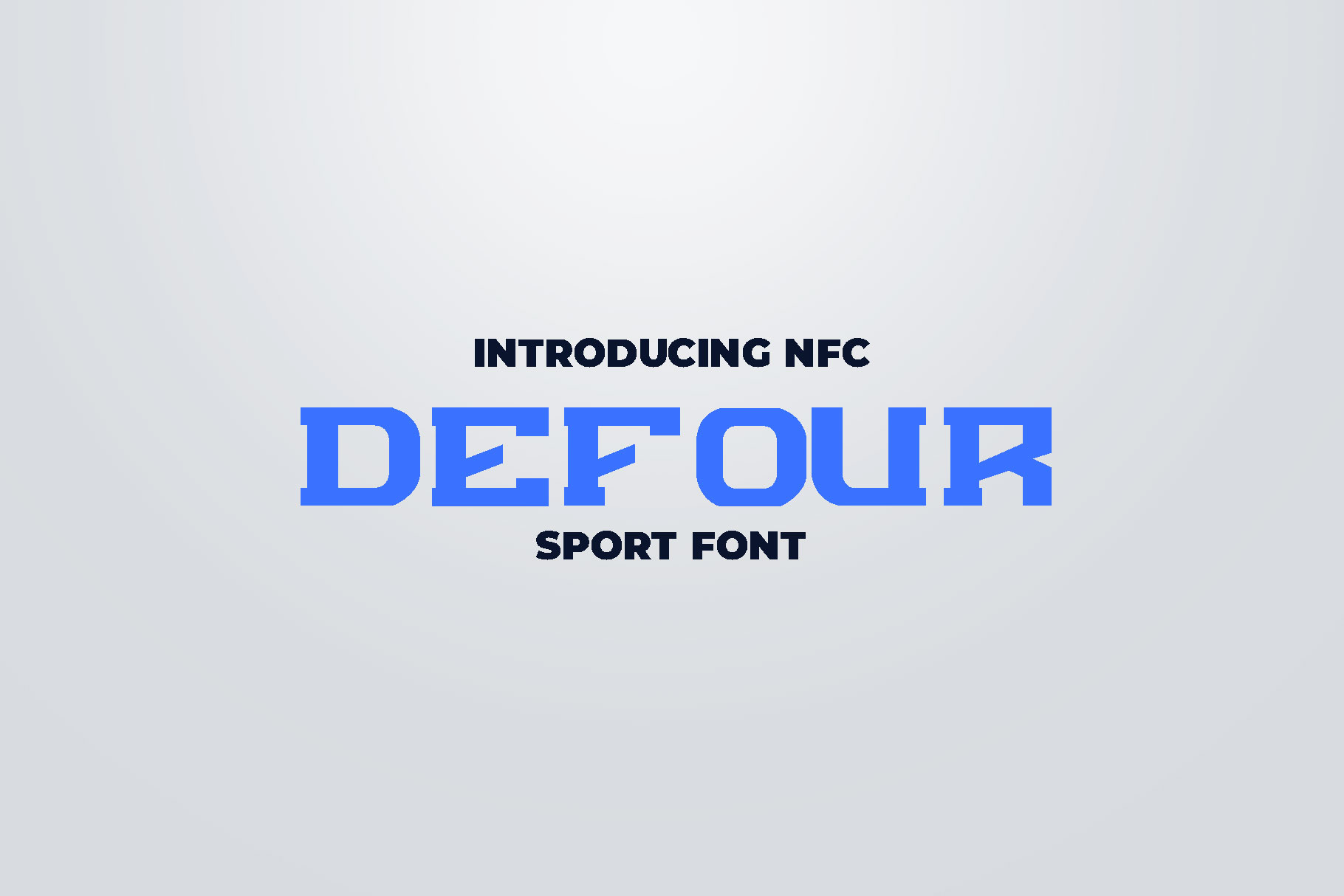DEFOUR Sport Display Font example image 1