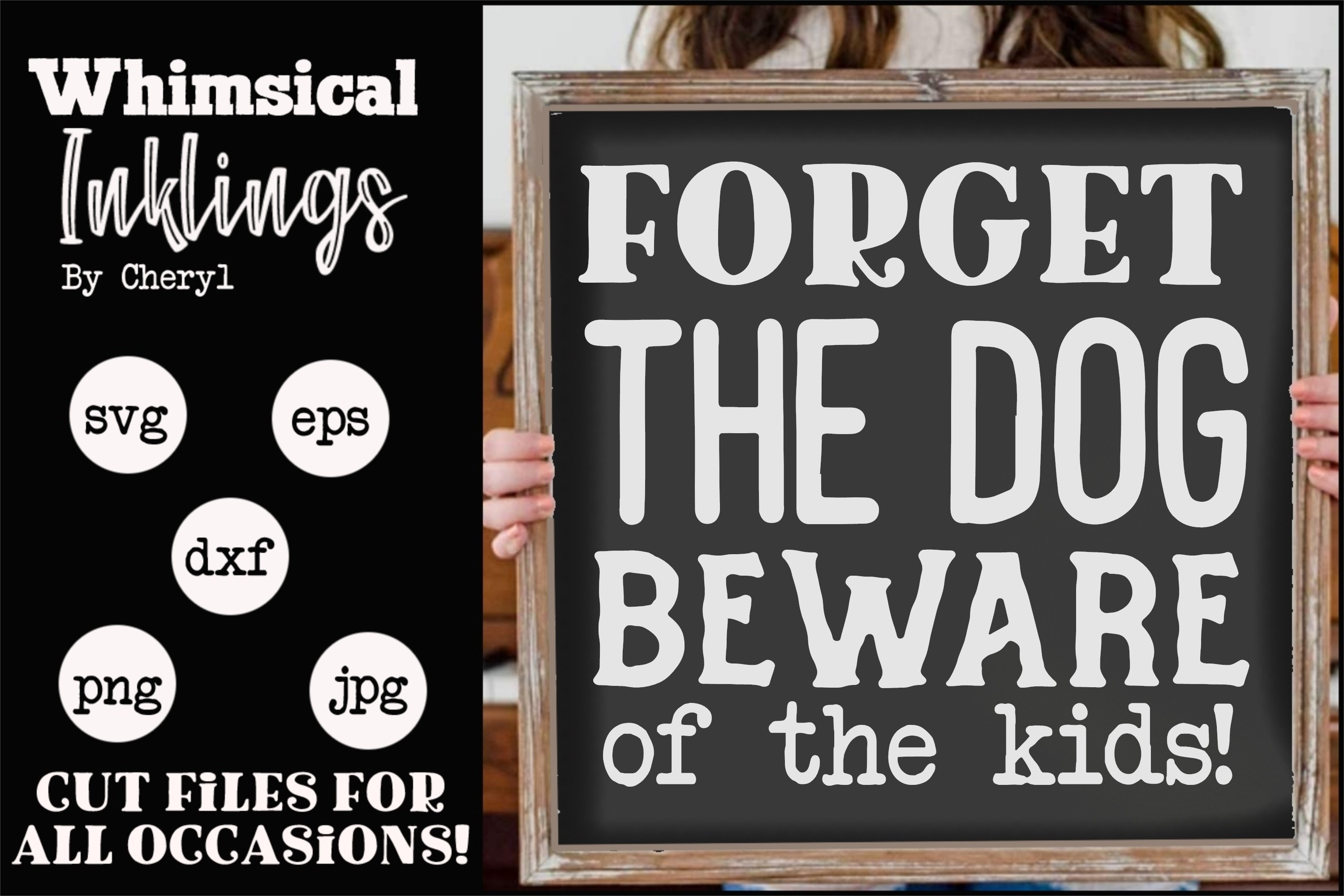 Forget The Dog SVG example image 1