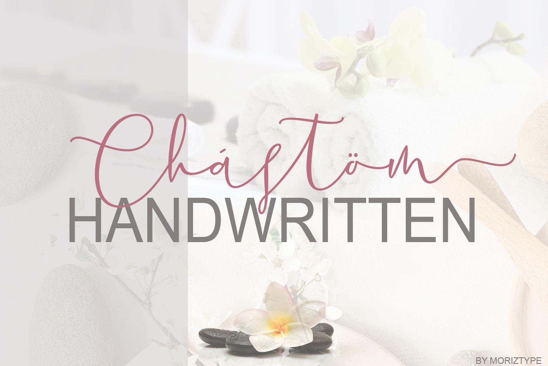 Chastum Handwritten example image 5