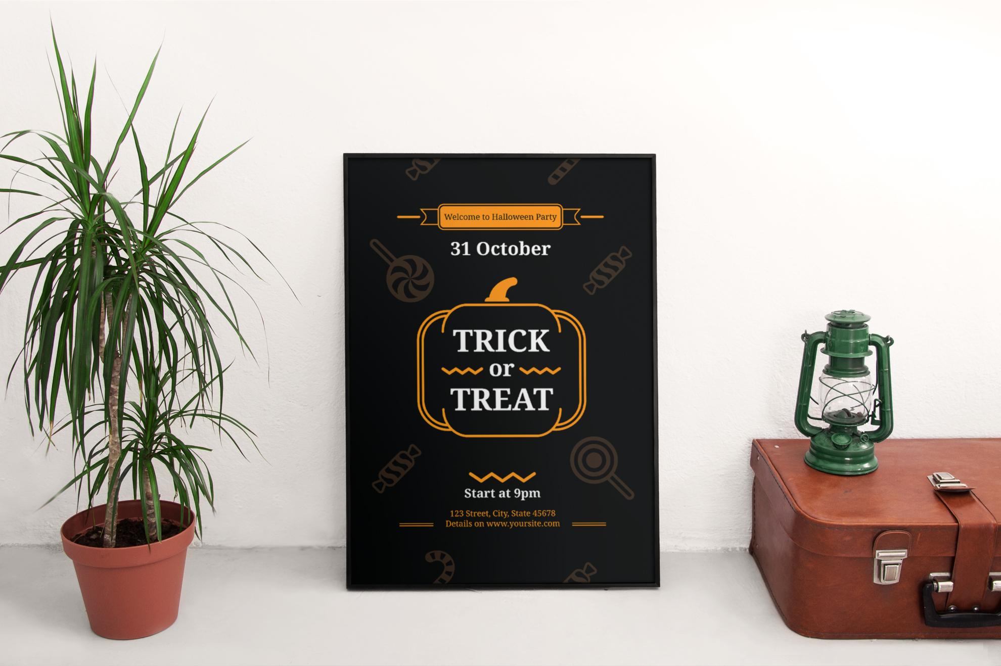 Halloween Party Design Templates Bundle example image 4