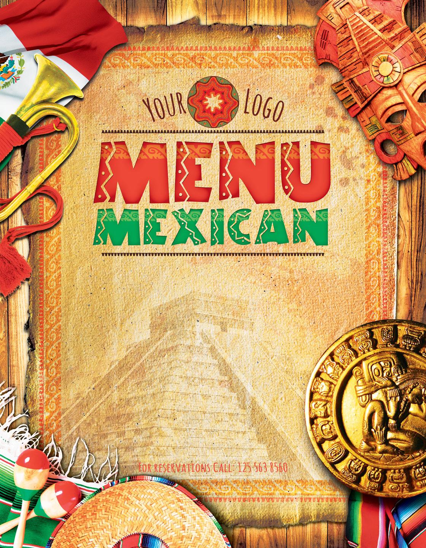 Mexican Menu example image 3