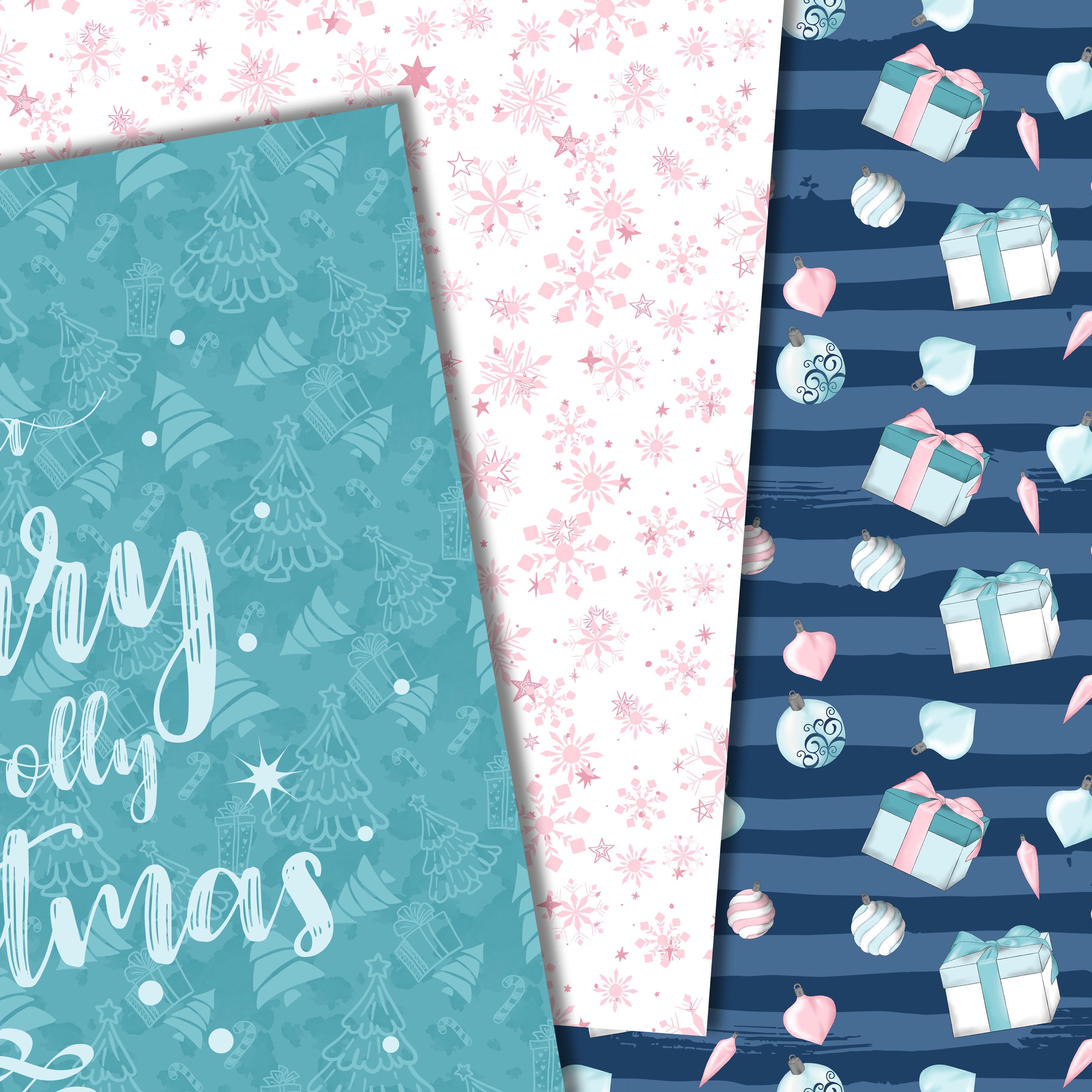 Pink christmas example image 2