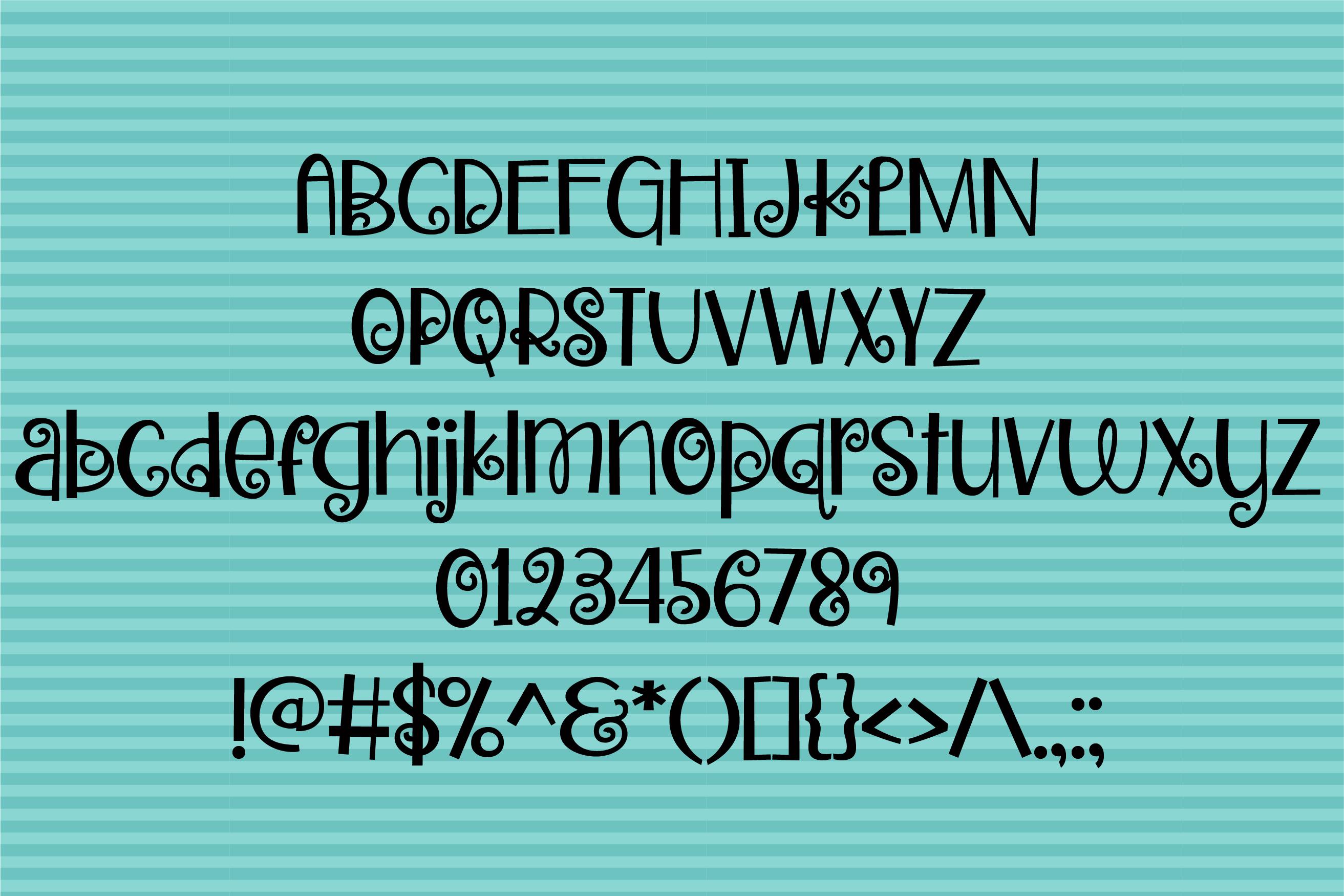 ZP Zweetie Curliecue example image 3