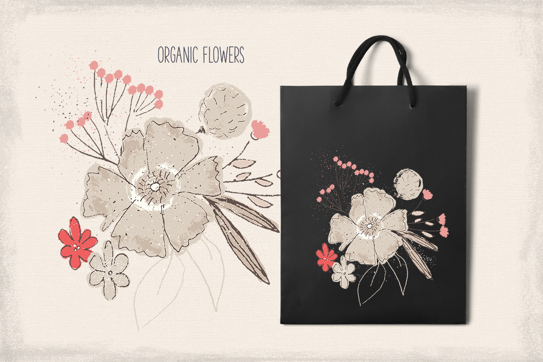 Organic Flowers example image 2