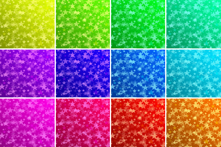 Colorful Stars Bokeh digital paper, Colorful Bokeh Overlay, Rainbow Star Bokeh backgrounds, Instant Download, for Personal & Commercial Use example image 2