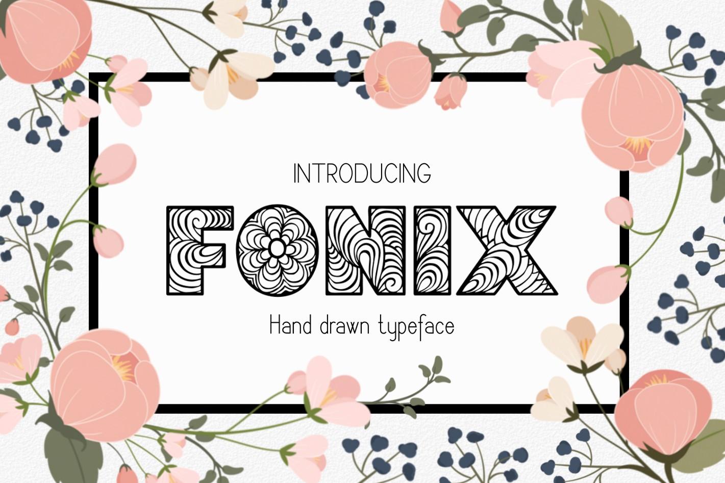 Fonix Font example image 1