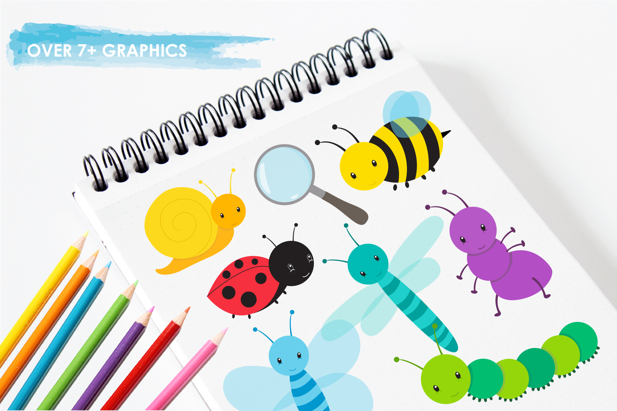 Bugging Out graphics and illustrations example image 3