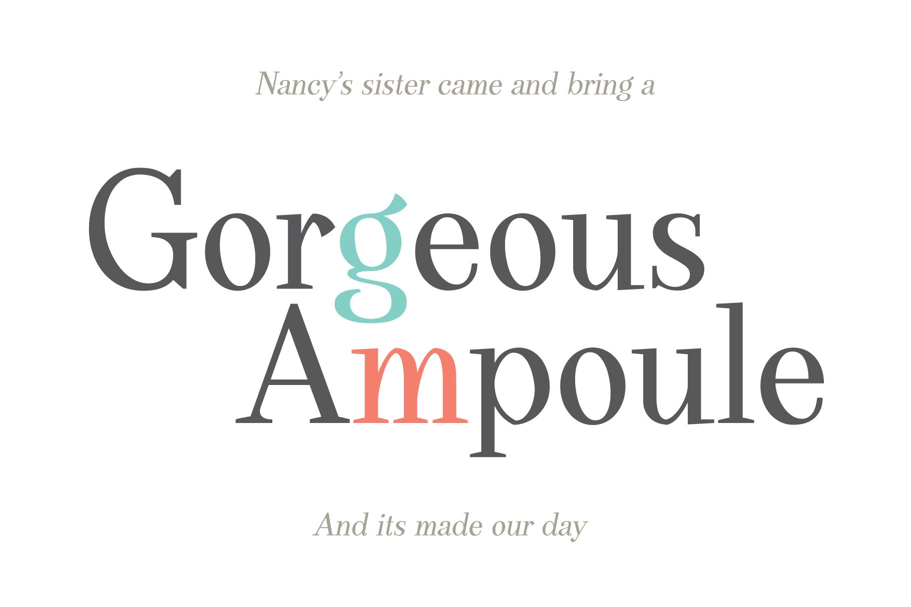 DearPony Sweet Classy Serif Font example image 7