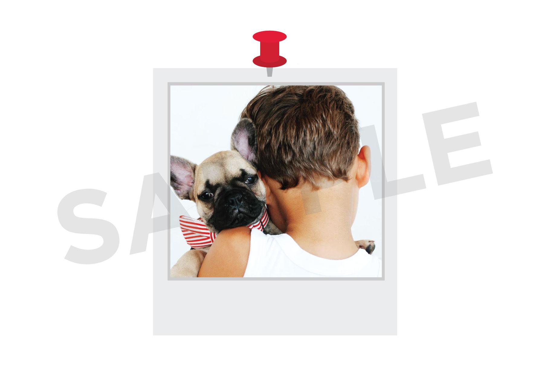 Classic Instant Film Clip Art Set example image 5