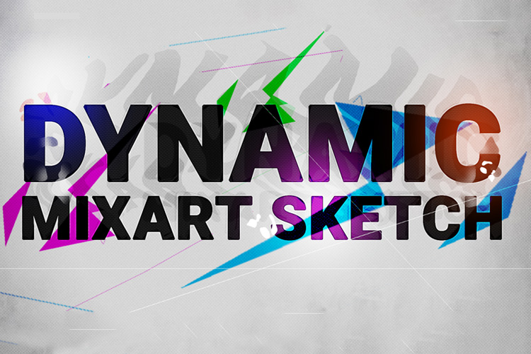 Dynamic MixArt Sketch Photoshop Action example image 10