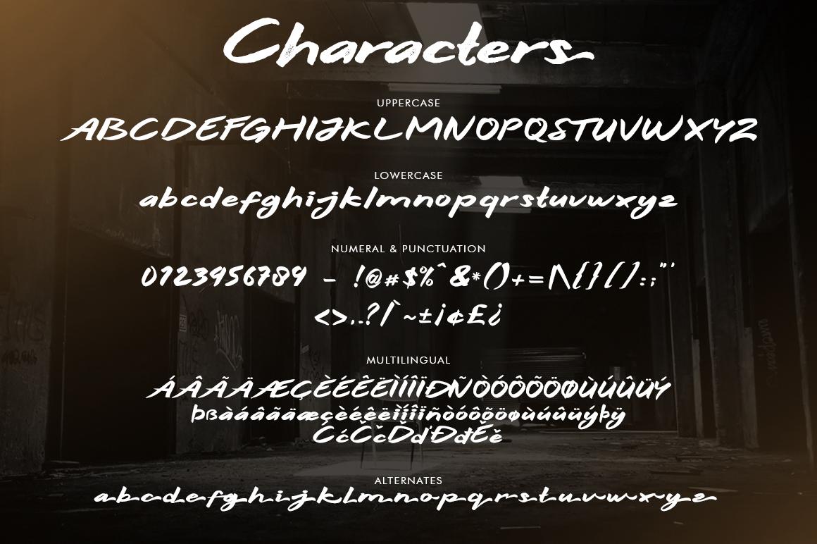Hitam Bold 3 Font example image 9