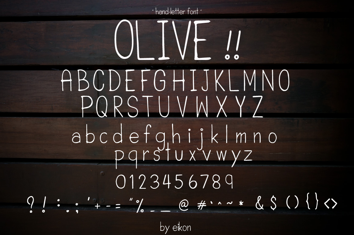 olive hand-letter example image 2