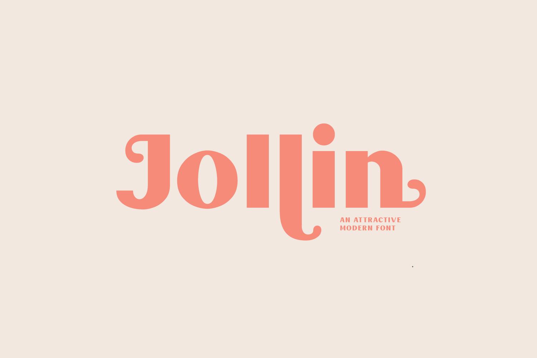 Jollin Font example image 10