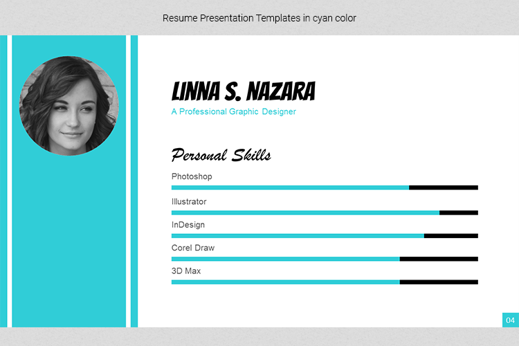 A4 Resume Templates Word example image 13