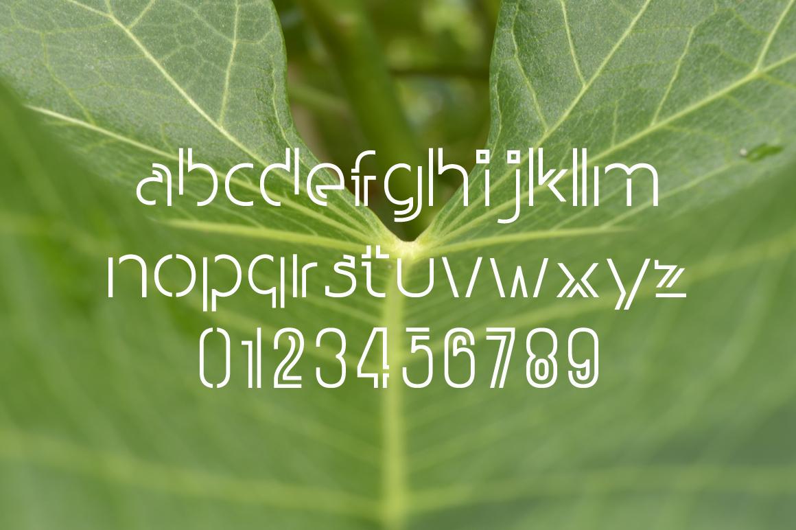 WONGDEWEK Modern Font example image 2