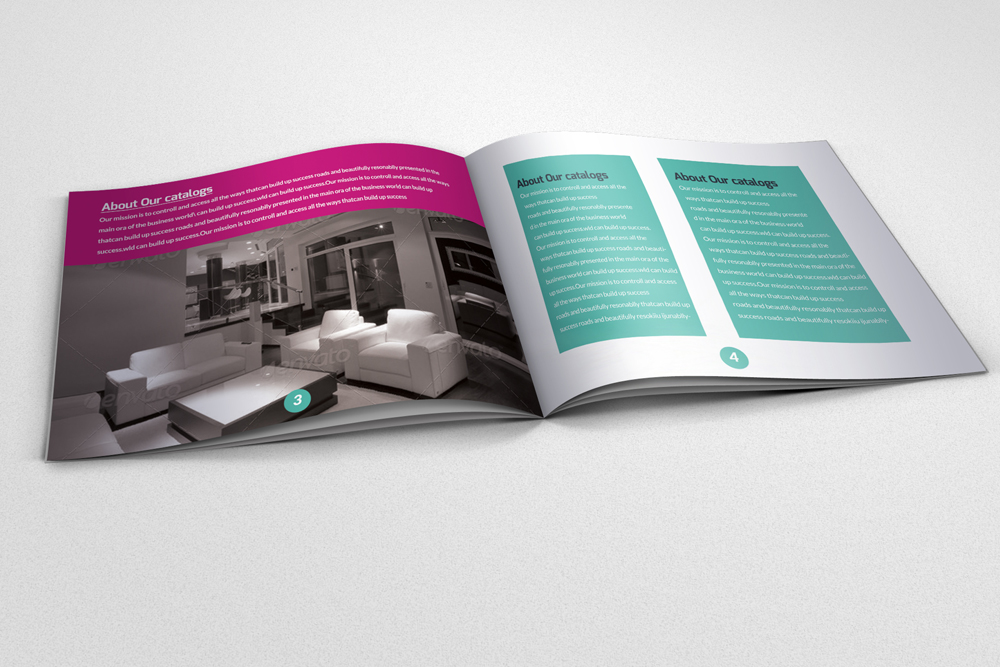 20 Pages Multi Use Minimal Square Brochure example image 7