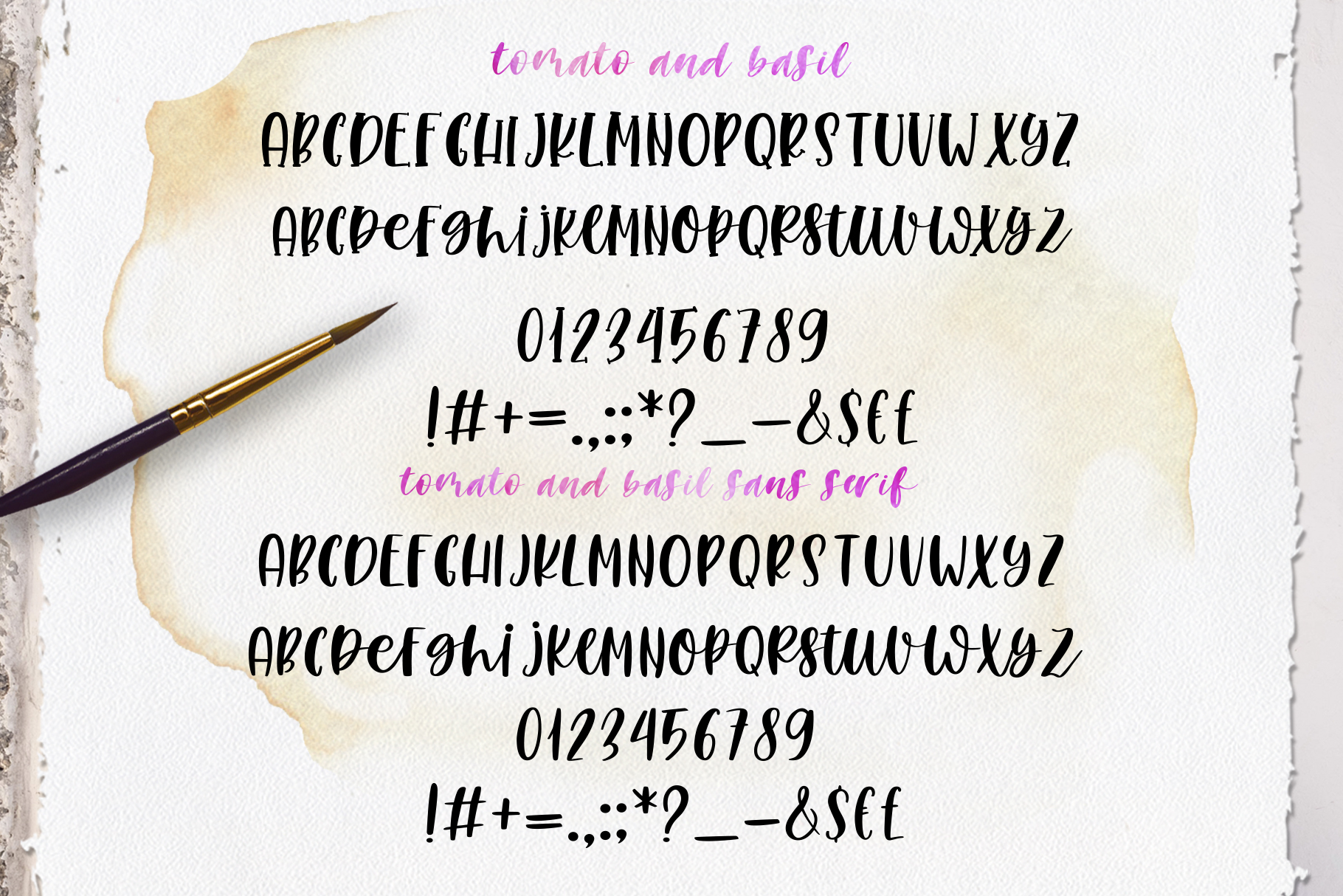 Smooth Handlettering Fonts Collection and Doodles  example image 17