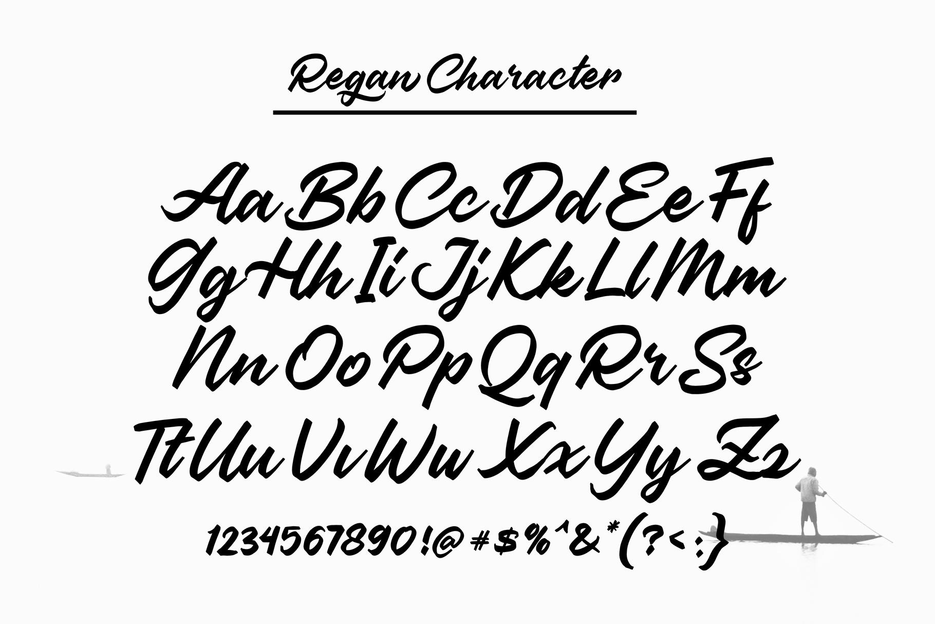 Regan Script example image 2