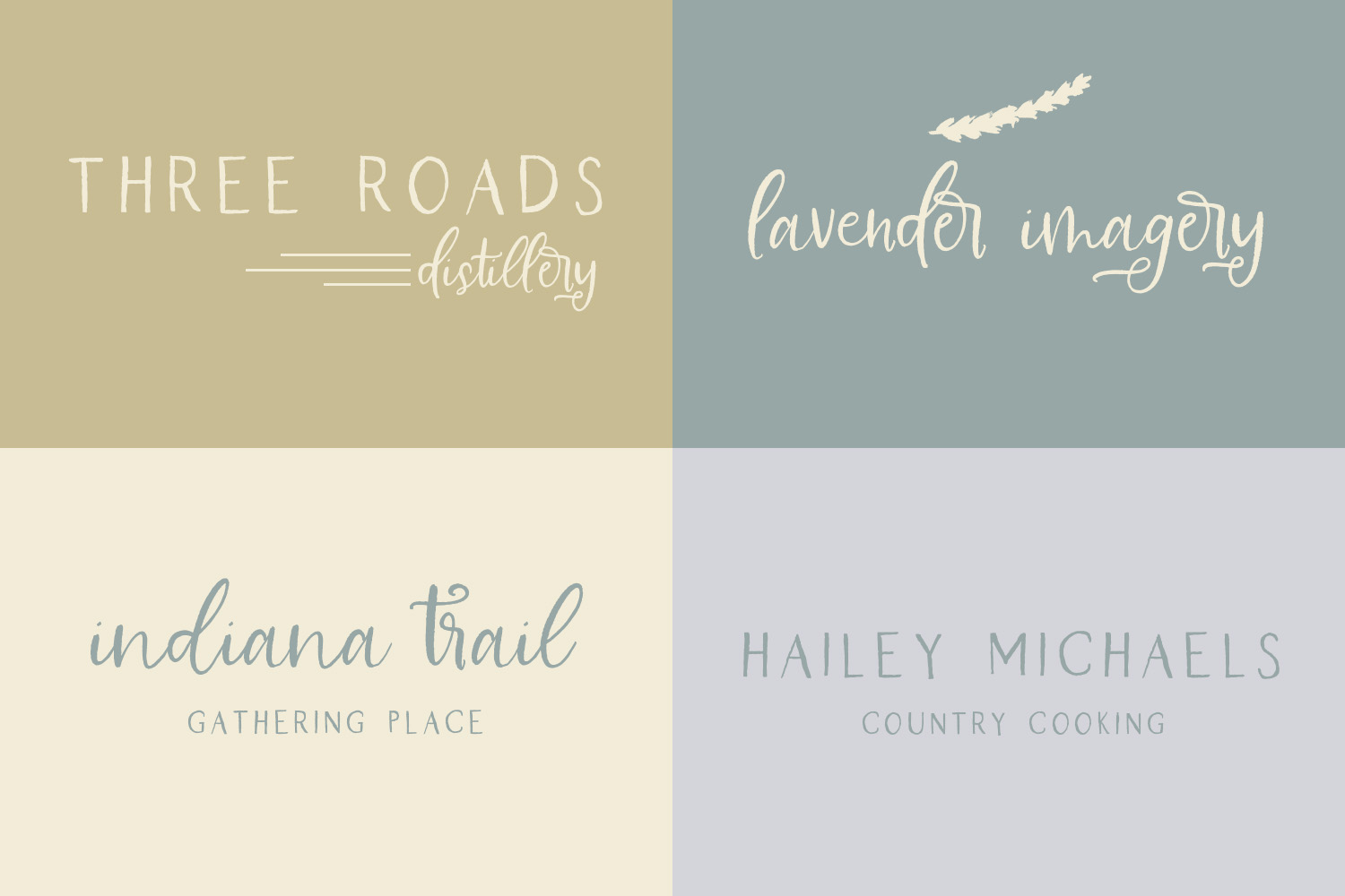 Farmhouse Country Rustic Cursive Font example image 7