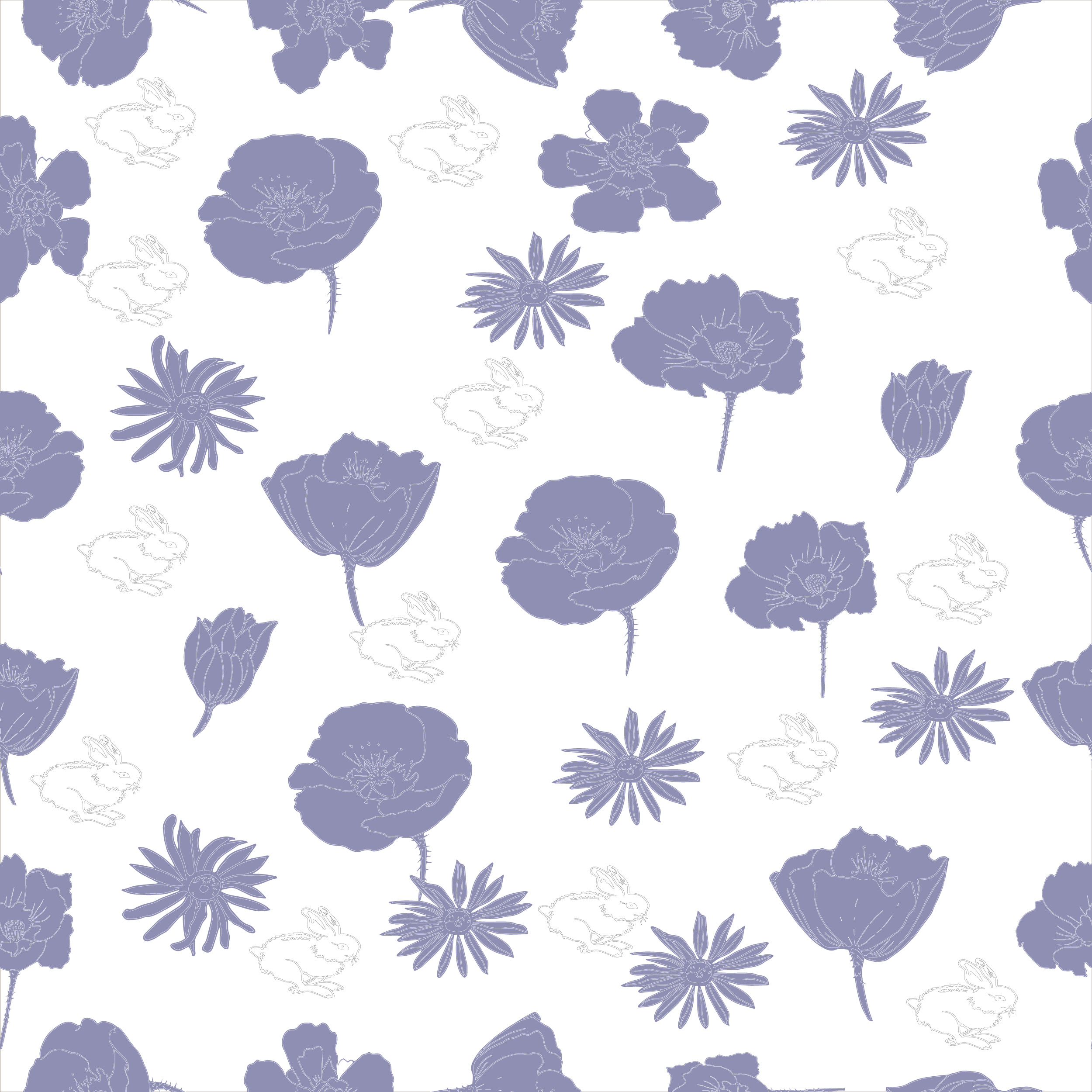8 Seamless Easter Patterns example image 9
