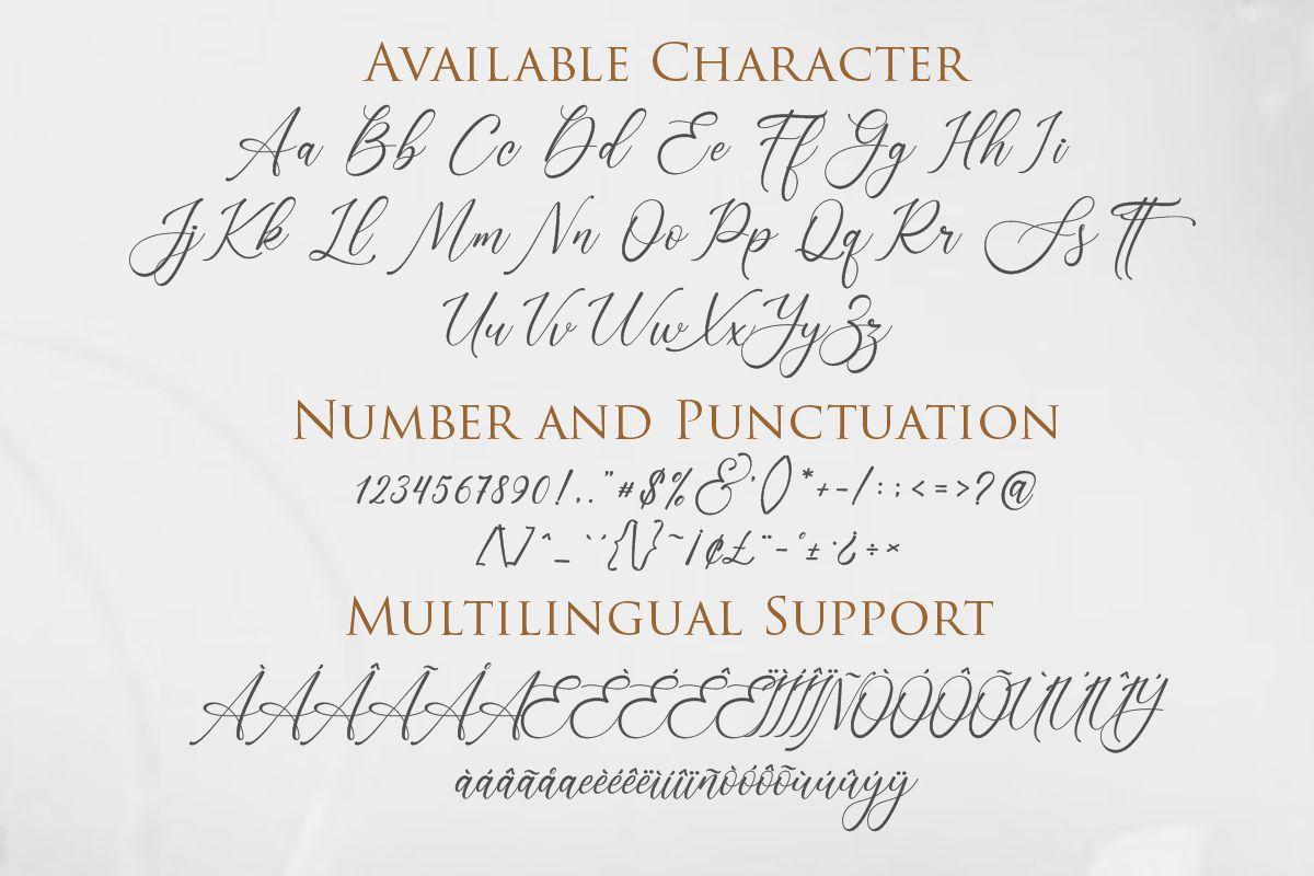 Lenttera | Beauty Style Calligraphy example image 2