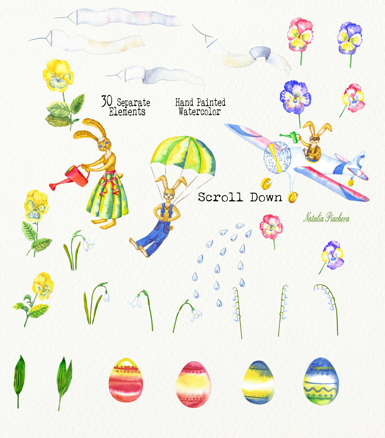 Welcome Spring! Rabbits Descent example image 4